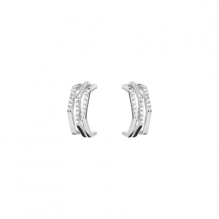 Earrings 3 Half Loops