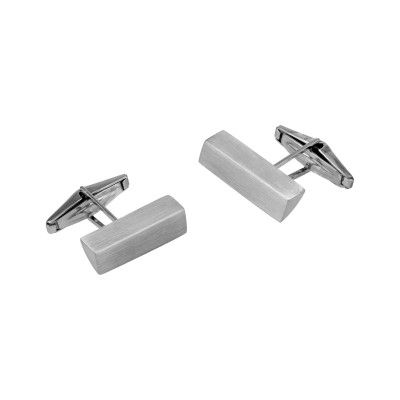 Cufflinks Prisma - Brushed