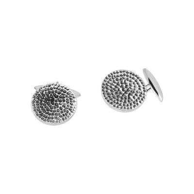 Cufflinks Hammered