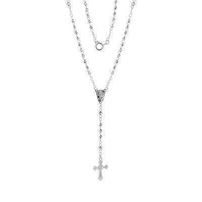 Rosary Necklace 2,5mm - Diamond