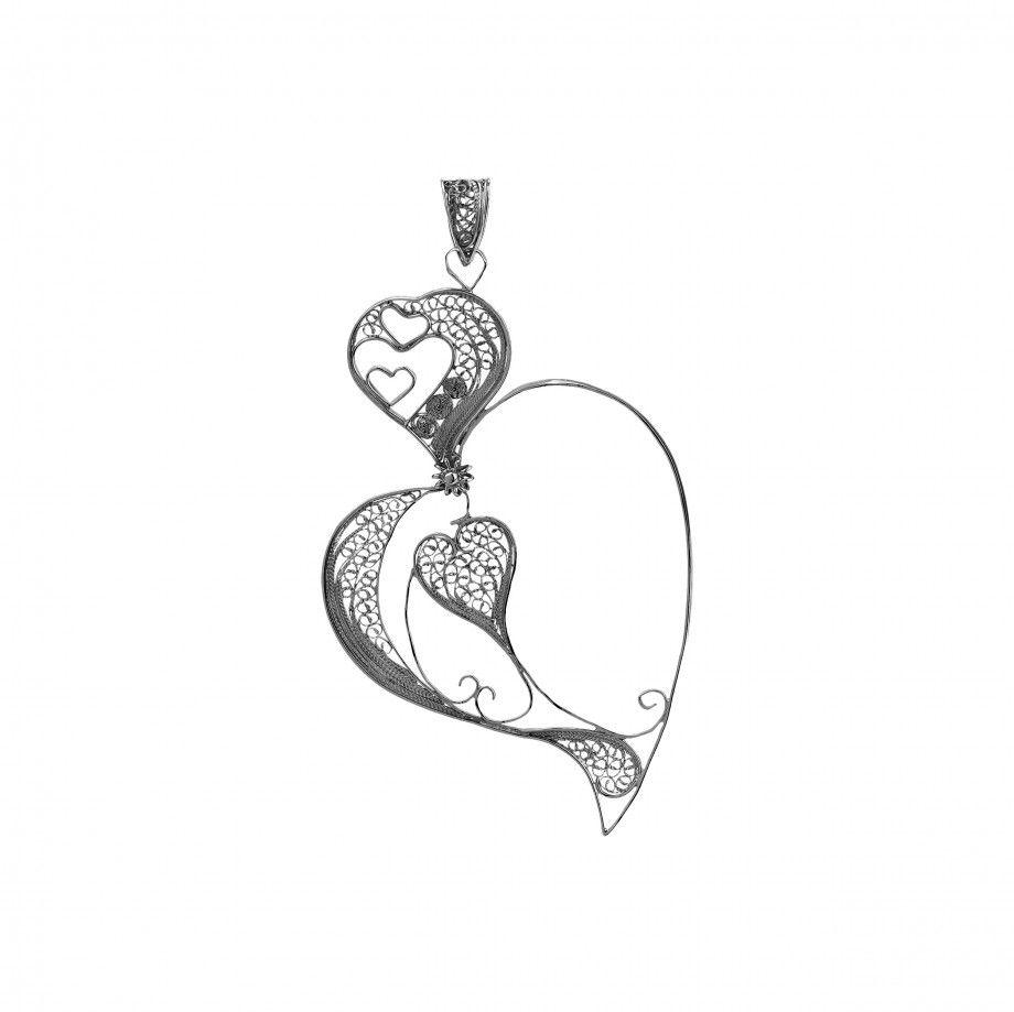 Pendant Double Heart