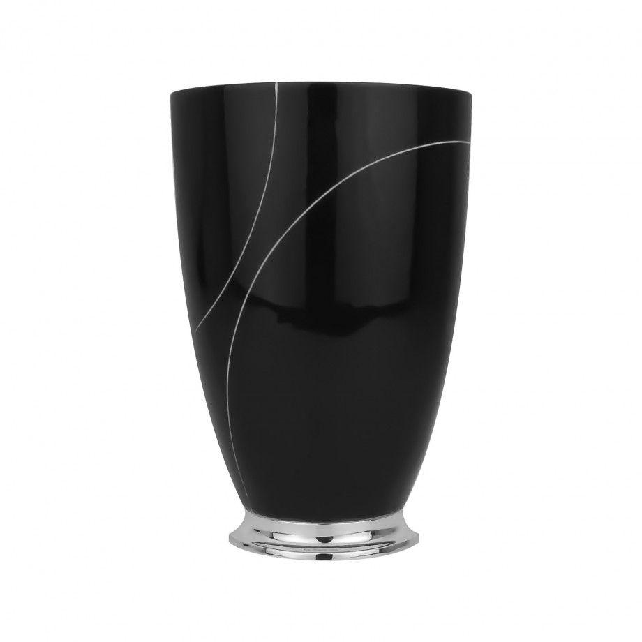 Vase Oxygen Black