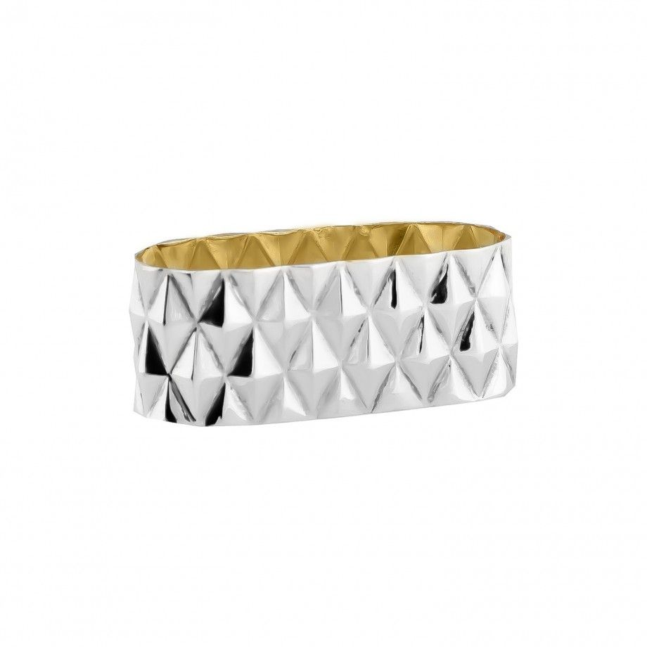 Oval Napkin Ring Diamond
