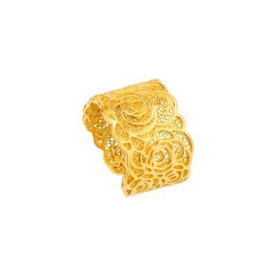 Anel Maruva - Dourado