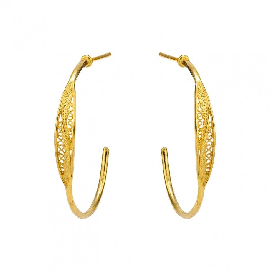 Argolas 3,2cm - Dourado