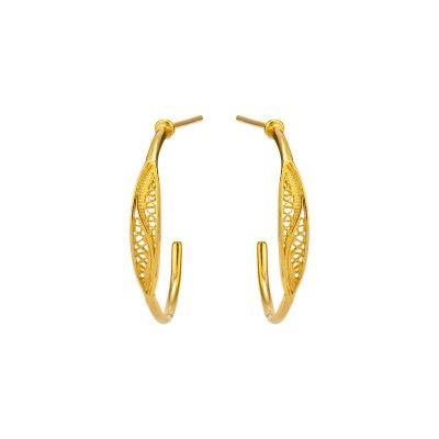 Argolas 2,5cm - Dourado