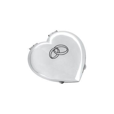 Wedding Rings Box Heart